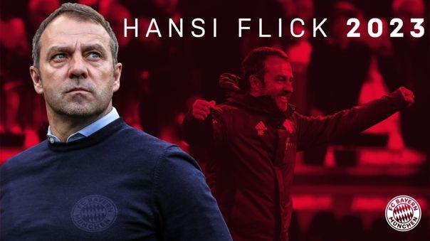 Bayern Munich le renovó contrato a Hansi Flick hasta el 2023