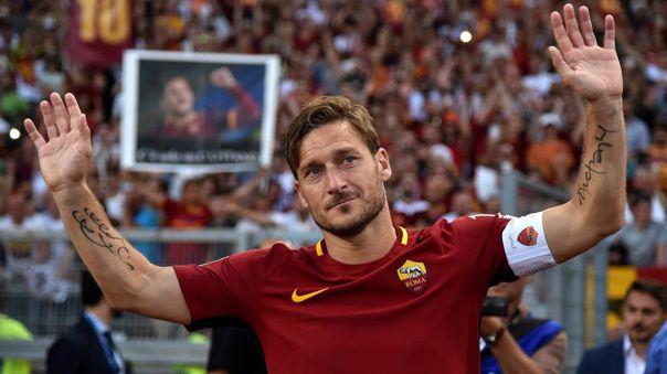 El amor eterno de Totti:
