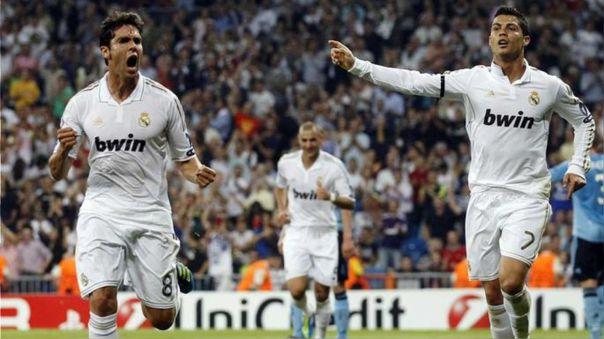 Kaká fichó por el Real Madrid en 2009, en la misma temporada que Cristiano Ronaldo