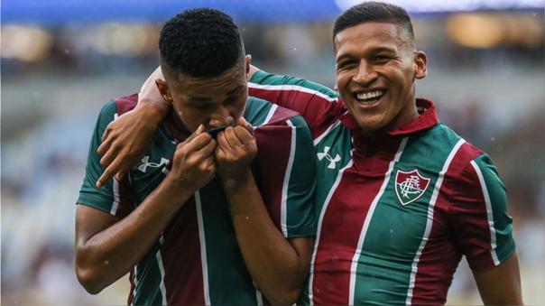 Fernando Pacheco fichó por Fluminense en enero del 2020