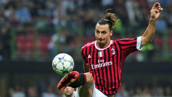 Zlatan Ibrahimovic retornó al AC Milan luego de siete temporadas