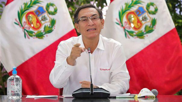 Martín Vizcarra brinda información sobre las medidas que se están tomando ante coronavirus.