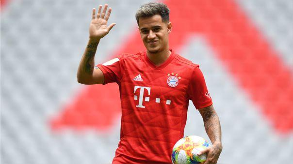 Philippe Coutinho juega desde junio del 2019 en el Bayern de Múnich