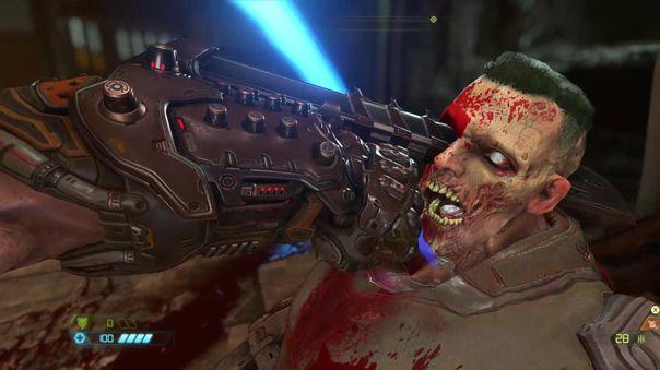 No te equivoques. No hay Doom sin violencia.