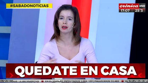 Presentadora de TV en Argentina cometió terrible fail sobre e fútbol