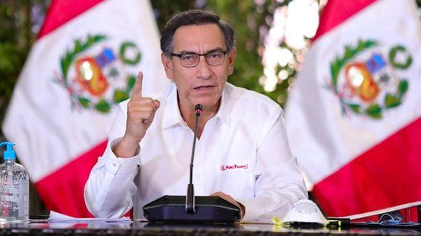 Martín Vizcarra evaluará la medida este lunes.