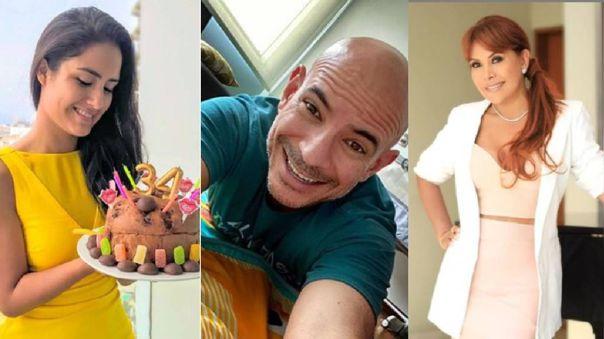 Mayella Lloclla, Ricardo Morán y Magaly Medina, son algunos de los artistas que han celebrado su cumpleaños en casa.