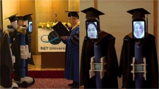 Los graduados participaron activamente de la ceremonia.