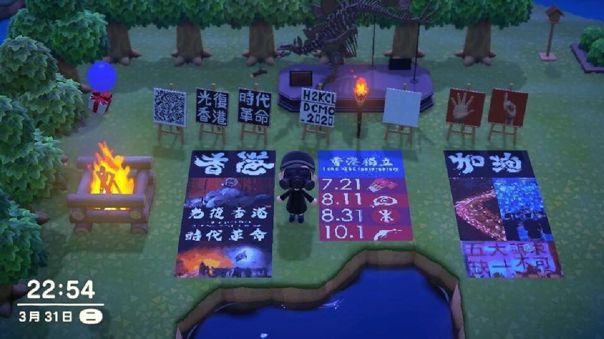 Las protestas se trasladan al juego de Nintendo Switch.
