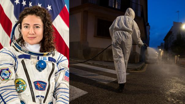 Jessica Meir, astronauta de la ISS, vovlerá la próxima semana a un planeta detenido por una pandemia