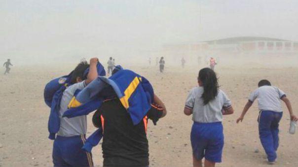 En Ica se presentará levantamiento de polvo y arena, indicó Senamhi.