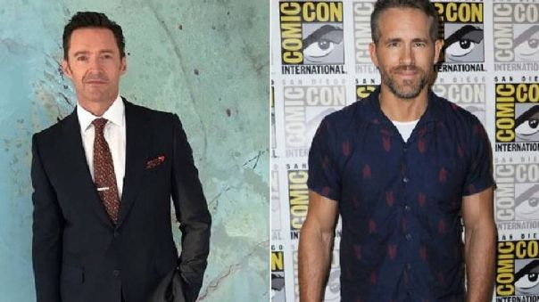 Ryan Reynolds trolea a Hugh Jackman