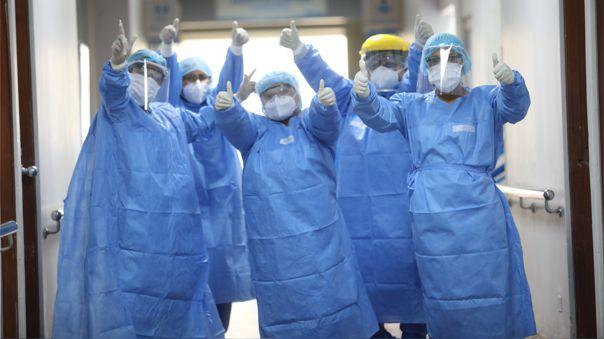 El Minsa informó sobre la mejora de las personas que estuvieron hospitalizados.
