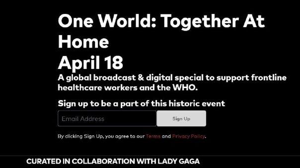 El concierto virtual será el próximo 18 de abril.