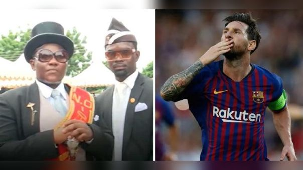Dancing Pallbearers y Lionel Messi