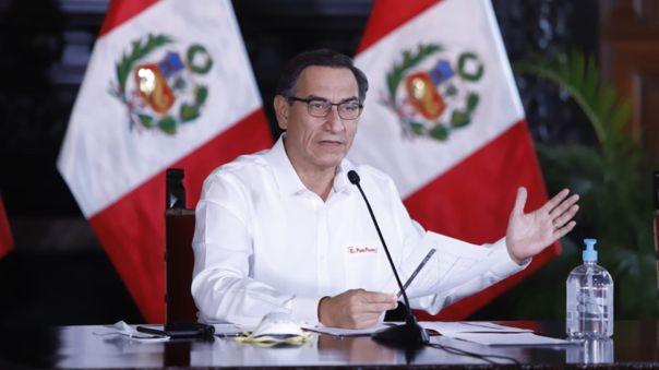Presidente Martín Vizcarra ofrecerá una nueva conferencia.