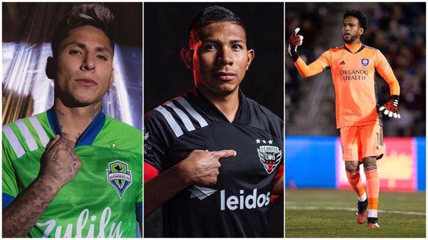 Siete futbolistas peruanos pertenecen a equipos de la MLS