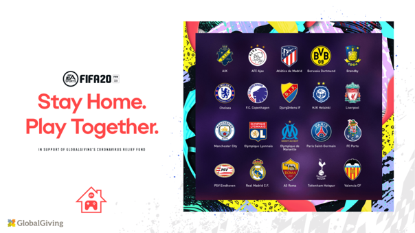 Estos equipos participarán en el torneo de FIFA 20.