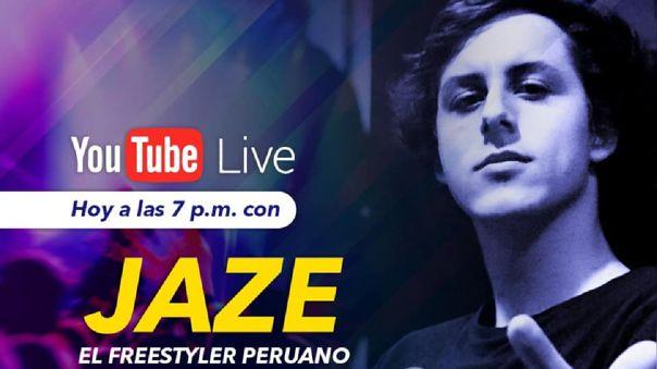 Hoy, Jaze en entrevista en vivo por RPP Noticias.