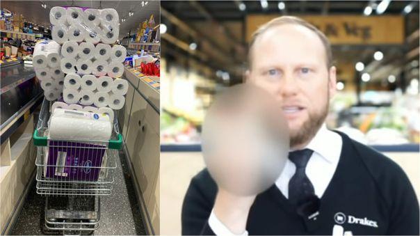 Compradores asustados y acaparadores acabaron con muchos productos esenciales ante el anuncio de la cuarentena en diversos países.