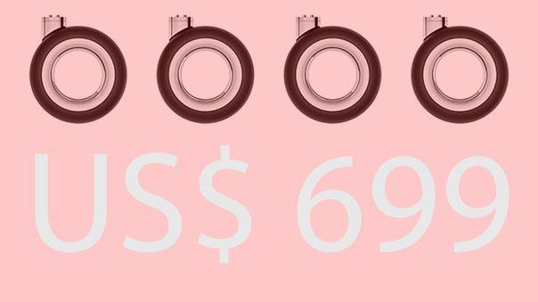 Esto es lo que cuestan las cuatro ruedas para la Mac Pro.