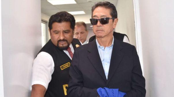 Jaime Yoshiyama cumple prisión preventiva desde marzo del 2019 por el caso Odebrecht