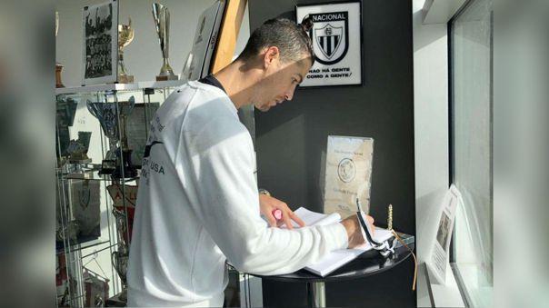 Cristiano Ronaldo debutó a nivel profesional en Sporting Lisboa