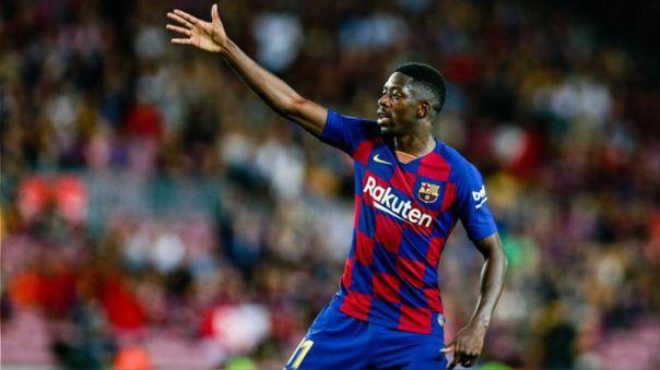 Ousmane Dembelé tiene contrato con Barcelona hasta el 2022