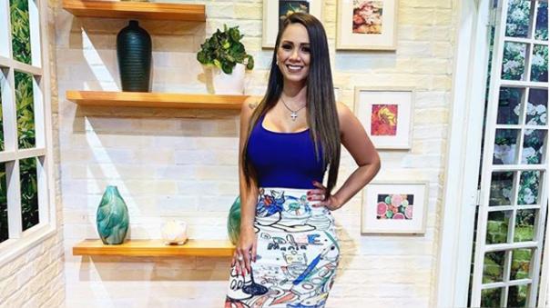 Melissa Klug anunció el fin de su relación con Ítalo Valcárcel.