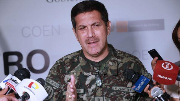 Jorge Chávez, jefe de INDECI