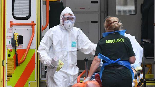 Trabajadores de salud del Reino Unido