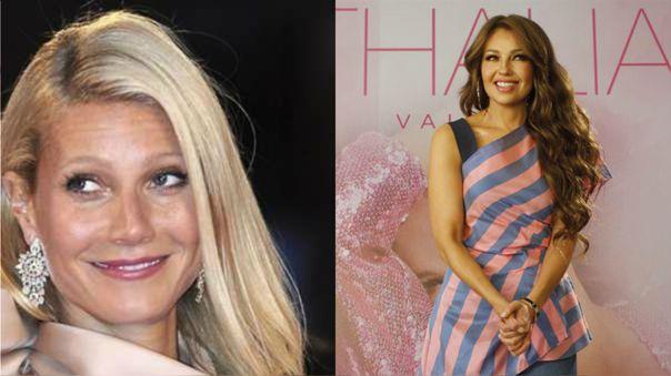 Gwyneth Paltrow y Thalía