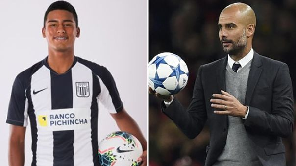 Kluiverth Aguilar confesó que su sueño es que lo dirija el español Pep Guardiola