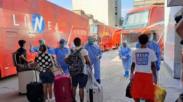 Traslados humanitarios desde Lima a Chiclayo