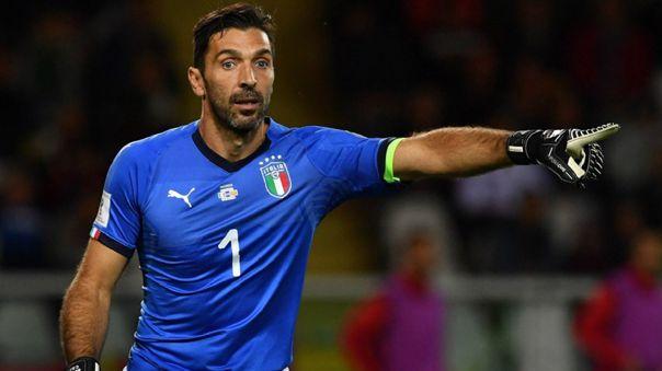 Gianluigi Buffon ha jugado cinco mundiales con la Selección de Italia