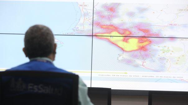 El mapa del calor junta tres bases de datos.