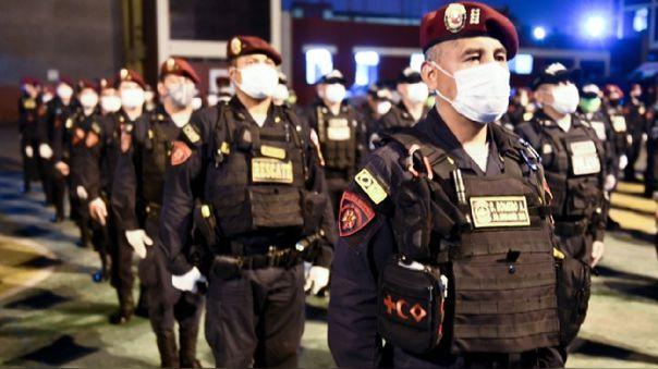 Policías vencieron al coronavirus.