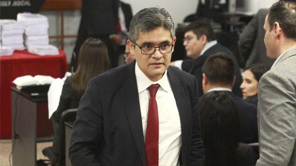 José Domingo Pérez, fiscal del caso Lava Jato que tiene a su cargo el caso de Keiko Fujimori.