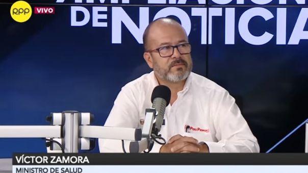 Víctor Zamora dijo que no se puede levantar la cuarentena de manera apresurada.