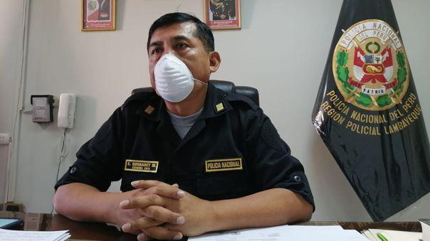 Coronel Elmer Guimarey volvió a pedir a los ciudadanos que respeten el aislamiento social.