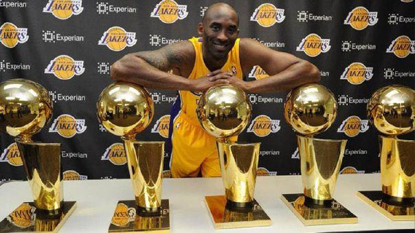 Subastarán medallas, trofeos y objetos de Kobe Bryant para fines benéficos