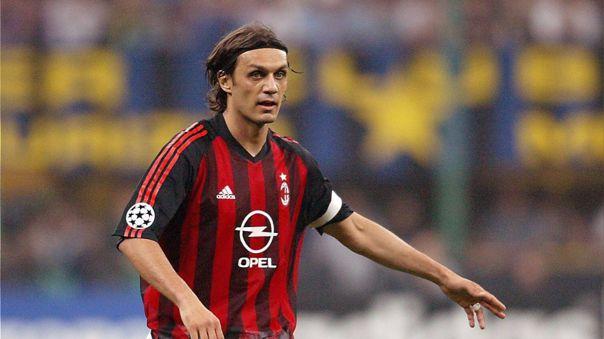 Paolo Maldini realizó toda su carrera en el AC Milan