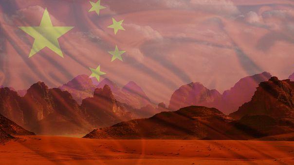Se espera que una sonda china aterrice en Marte en 2021.