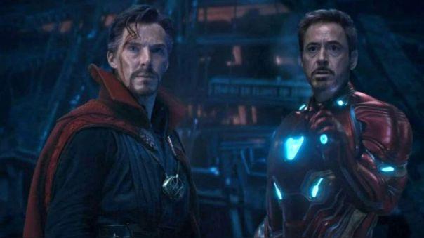 Doctor Strange y Iron Man