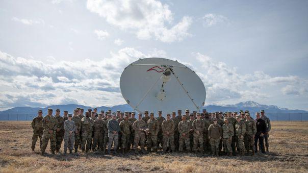 Por ahora las labores de la Fuerza Espacial de Estados Unidos se limitan a apoyo desde la Tierra.