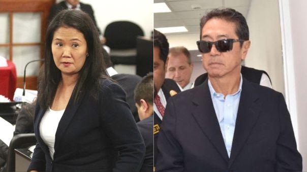 Keiko Fujimori y Jaime Yoshiyama, coinvestigados en el 'Caso Cocteles', parte del caso Odebrecht.
