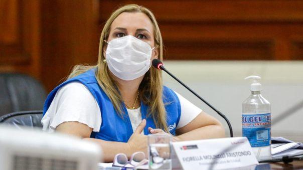Presidenta de EsSalud se presentó en comisión virtual del Congreso.