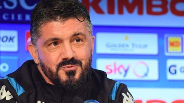 Gennaro Gattuso renunció a su sueldo para que puedan cobrar los empleados del Napoli