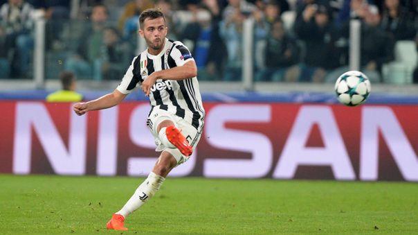 Miralem Pjanic lleva jugando cuatro temporadas en Juventus