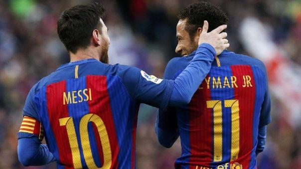 Lionel Messi y Neymar coincidieron durante cuatro temporadas en Barcelona